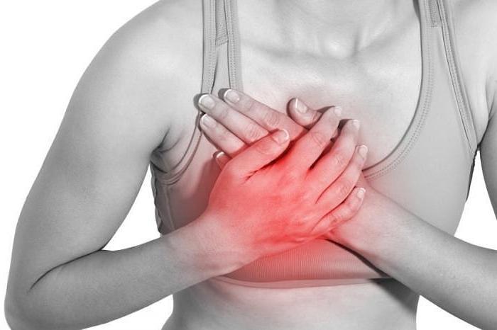 болит левая грудь перед месячными
