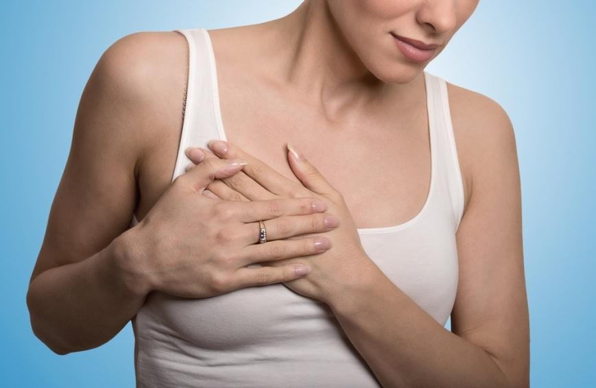 боль в молочной железе при надавливании
