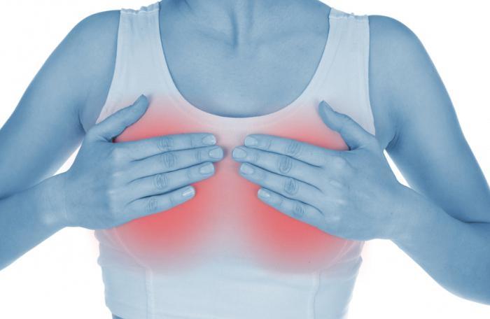 начинает болеть грудь при беременности