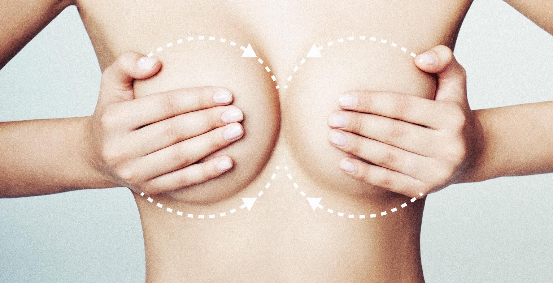 массаж груди при кормлении