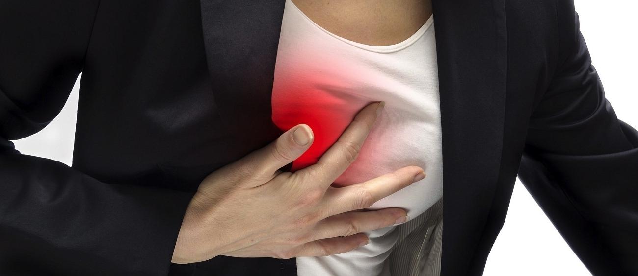 что может болеть справа в грудине у женщин