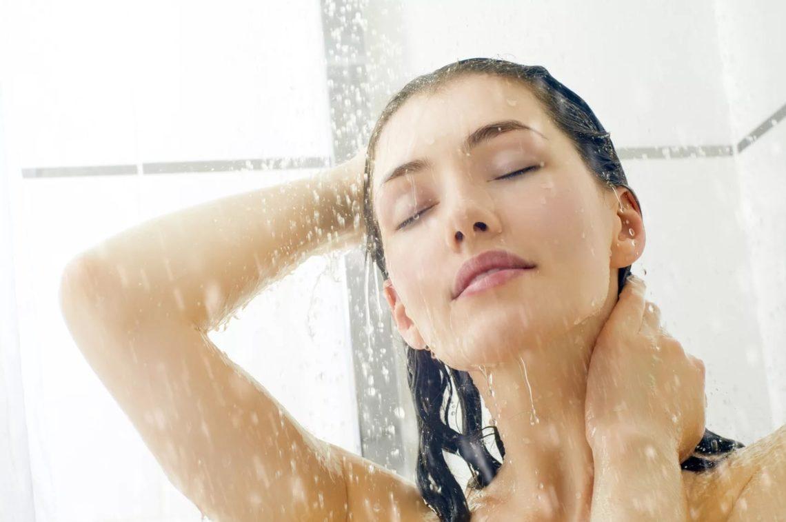 можно ли в душ при температуре каждой позиции первого