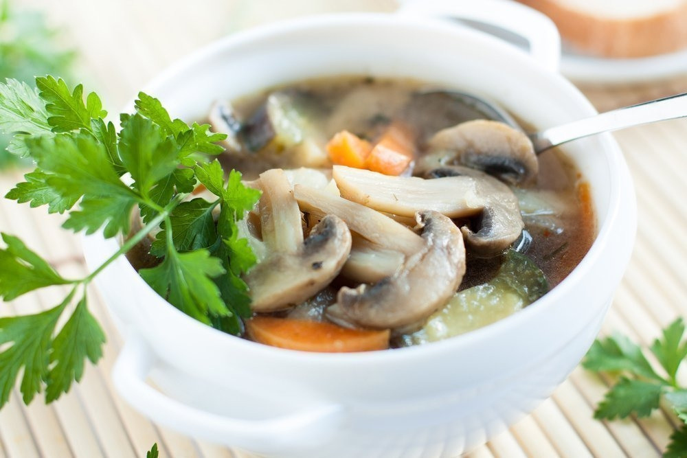 Вкусный суп с грибами рецепт с фото