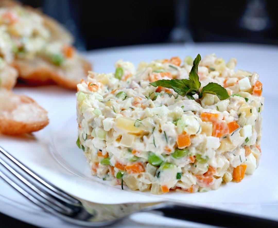Новогодние салаты для кормящих мам рецепты с фото