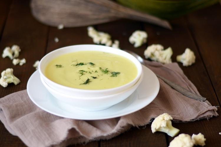 Суп пюре из цветной капусты
