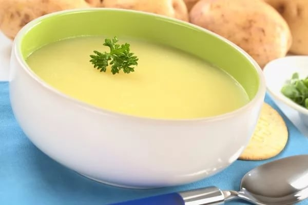 Картофельно-молочный суп