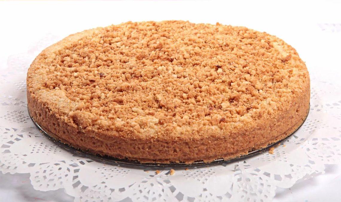 Песочный яблочный пирог рецепт
